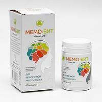 Комплекс 'Мемо-Вит', нормализация давления, улучшение памяти, 60 таблеток по 505 мг