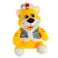 Мягкая игрушка 'Тигр', в зимней одежде, 20 см