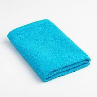 Полотенце махровое Экономь и Я 30х30 см, голубой, 100 хл (комплект из 6 шт.)