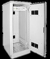 """ITK Шкаф уличный напольный 19"""" LINEA O 42U 720x860мм IP55 металлическая дверь серый"""