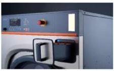 Промышленная стиральная машина TOLON TWE 24 кг, фото 2