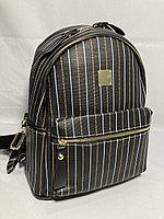 Городской мини-рюкзак для девушек. Высота 30 см, ширина 27 см, глубина 14 см.