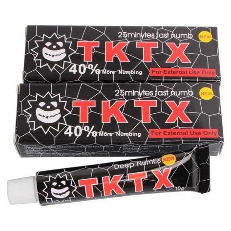 Крем анестетик TKTX 40% (Черный), фото 2
