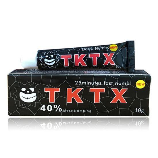 Крем анестетик TKTX 40% (Черный)