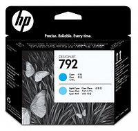 Картридж HP 792 печатающая головка Latex голубая/светло-голубая CN703A