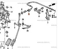 Трос газа на Honda CR-V RD1 левый руль