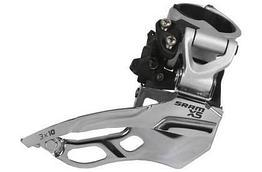 Переключатель передний Sram X5 3X10 High Clamp 31.8/34.9 Dual Pull Black