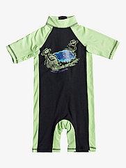 Детский костюм для плавания с коротким рукавом Quiksilver Springboy