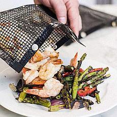 Антипригарный конверт-сетка для барбекю 27x22 см Летняя распродажа!, фото 3