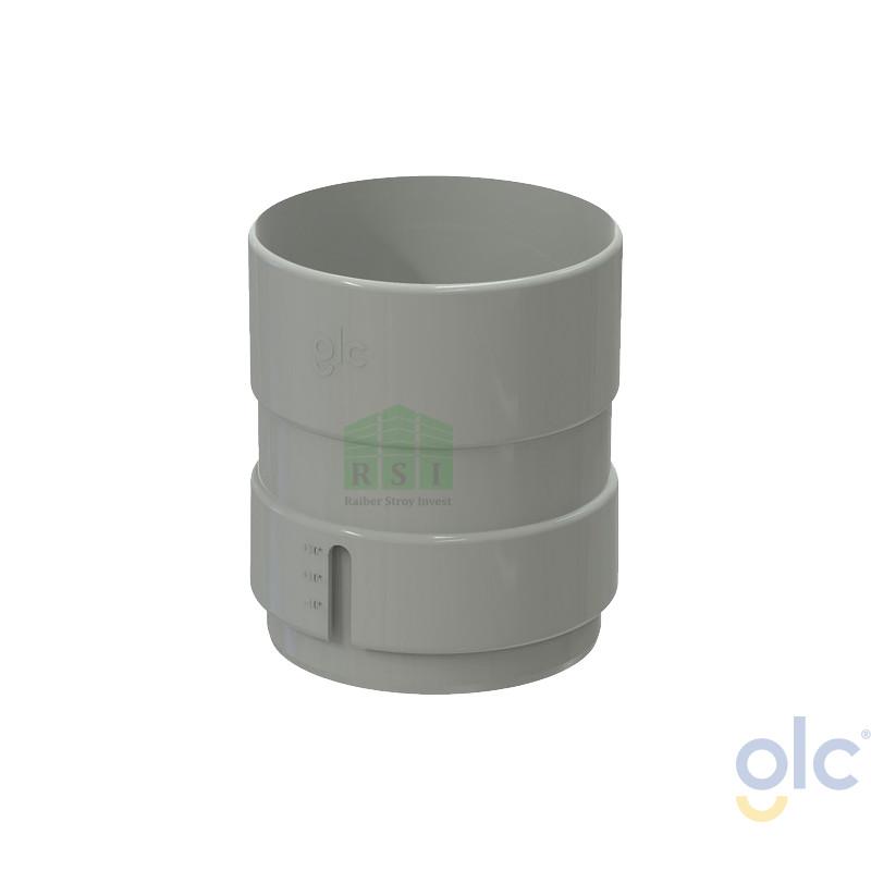 Муфта трубы GLC (универсальная, белая)