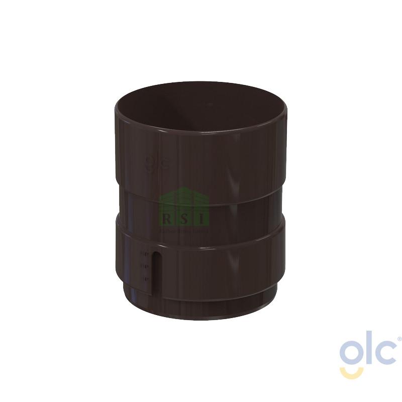 Муфта трубы GLC (универсальная, коричневая)