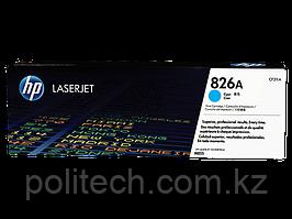 Картридж лазерный HP CF311A, для принтеров HP ColorLaserJet M855XH series, голубой