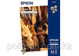 Бумага для струйной печати Epson C13S041256 A4 Matte Paper - Heavyweight, матовая, 50 листов, 167g/m2