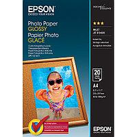 Бумага для струйной печати Epson C13S042538 Glossy Photo Paper, глянцевая, A4, 20 листов
