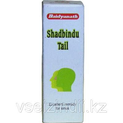 Капли в нос Шадбинду таил, Байдъянахт / Shadbindu tail, Baidyanath, 25 мл