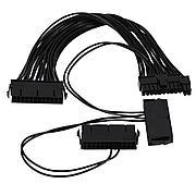Адаптер / Синхронизатор 2/3 блоков питания, Dual PSU 24pin ATX 3 БП