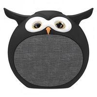 Колонки Ritmix ST-110BT Owl (1.0) - Black, 3Вт, 100Hz-20kHz, BT, USB, Line-in