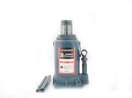 Домкрат бутылочный 30т с клапаном (h min 255мм, h max 405мм) Forsage F-T93004