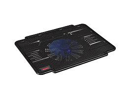 "Подставка для ноутбука Buro BU-LCP140-B114, Черный USB power, 14cm fan blue LED, up to 14"", black"