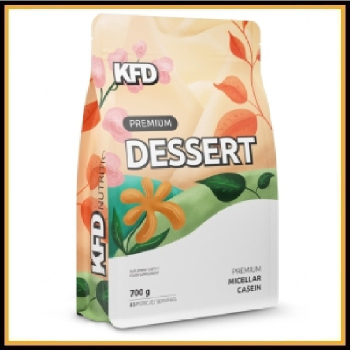 KFD Premium Dessert Micellar Casein 700гр (ваниль)