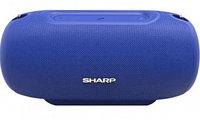 Колонки SHARP GX-BT480 (2.0) - Blue, 40Вт,64Hz-20kHz, Line-In 3.5mm, microSD BT, USB