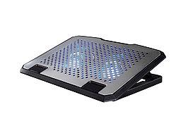 "Подставка для ноутбука Hama H-53064 (00053064), Серебристый USB power, 2x14cm LED, up to 15,6"", silver"