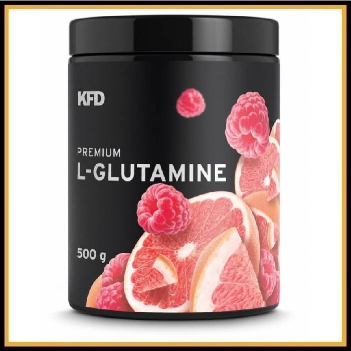 KFD Premium L-Glutamine 500гр (малина-грейпфрут)