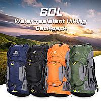 Профессиональный влагозащищенный походный рюкзак 60 л,Weikani