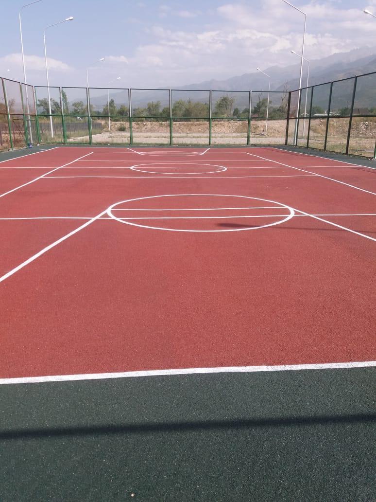 Площадка с резиновым покрытием 648 м2 (толщина покрытия 15 мм) - фото 2