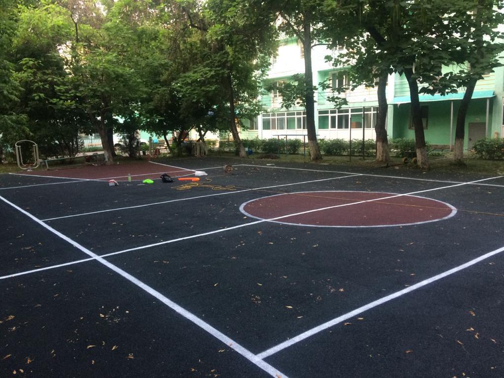 Площадка с резиновым покрытием 648 м2 (толщина покрытия 15 мм) - фото 3