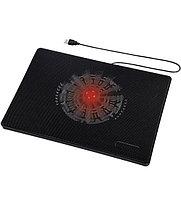 "Подставка для ноутбука Hama Slim (00053067), Черный USB power, 160cm red LED, up to 15,6"", black"