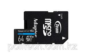 Карта памяти Team Group Elite MicroSDHC/SDXC 64GB