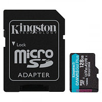 Kingston Canvas Go! Plus SD 128GB, Class 10 UHS-I U3, (SDCG3/128GBSP)