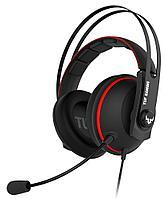 Гарнитура ASUS TUF Gaming H7 Core 90YH01QR-B1UA00, черно-красный