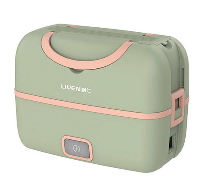 Ланч-бокс с подогревом Xiaomi Liven Fun Portable Cooking Electric Lunch Box (FH-18) Зеленый