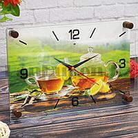 Настенные часы Рубин 2030-22 Чай с лимоном 30 на 20 см