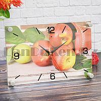 Настенные часы Рубин 2030-03 Сочные яблоки 30 на 20 см