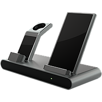 Prestigio ReVolt A1, charging station for iPhone, Apple Watch, AirPods, 2 wireless interfaces, fast charging,