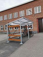Стоянка для велосипедов (велопарковка) 4х2 метра