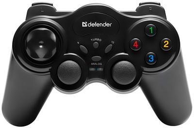 Геймпад Defender Game Master Wireless, беспроводной, черный