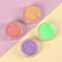 Мармелад для ногтей, 4 баночки, цвет разноцветные