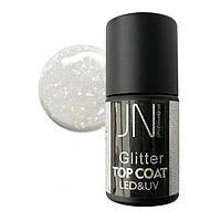 Топ для гель-лака JessNail Glitter Top Coat №08, 10 мл