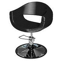 """Парикмахерское кресло """"Смайл плюс"""", пятилучье, цвет чёрный"""