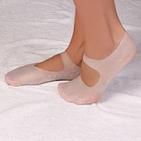 Носочки для педикюра, силиконовые, размер M