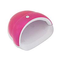Лампа для гель-лака TNL Quick, UV/LED, 24 Вт, 5 диодов, таймер 30/60/90 сек, цвет фуксия