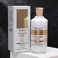 Профессиональный шампунь против выпадения волос с аргановым маслом 520 мл