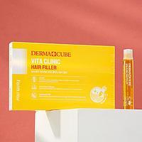 Витаминизирующий филлер для волос FarmStay с витаминами, 10 шт. по 13 мл