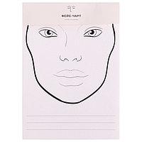 Трафарет для макияжа №3 21х34,7