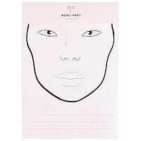 Трафарет для макияжа №2 21х34,7