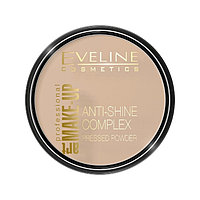 Пудра для лица Eveline Anti-Shine Complex, матирующая, тон 31 прозрачный